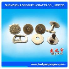 Accesorios de metal en blanco Mancuernas de latón de encargo