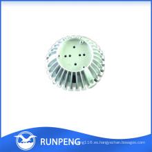 OEM de alta calidad de fundición de fundición de aluminio disipador de calor