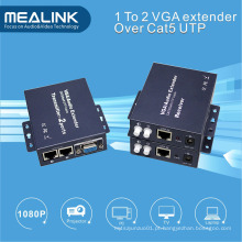 1 a 2 VGA Extender 300m (por único Cat5e / 6)