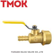 válvula de gás do fio exterior de bronze do punho longo
