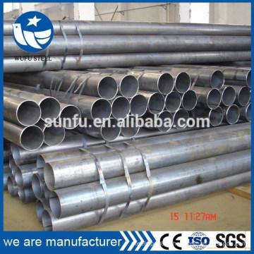 ERW LSAW SSAW tuyau en acier soudé pour bois debout