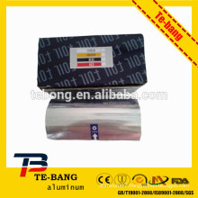 color hairdressing aluminum foil for different usage with competitive price and quality