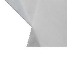 Entretela de tejido de fusión no tejido para confección de materiales