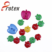 Different Styles of Apple Shape Button for Children