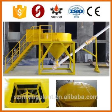Concrete batching plant big bag cement silo 3m3
