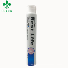 High quality soft empty custom 75 g screen printing cosmetics whitening toothpaste tube for sale