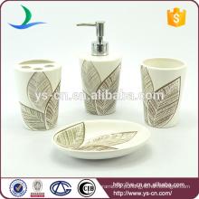 Ceramic Bathroom Toothbrush Containers