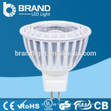 Lâmpada do projector do diodo emissor de luz da alta qualidade MR16 / Gu10 5W COB, CE Aprovação de RoHS
