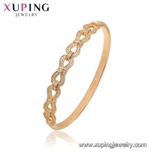 52173 Xuping ювелирные изделия Китай Оптовая позолоченный роскошные Мода стиль браслет для женщин