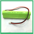 Paquete de baterías Pkcell 3.6V 1000mAh NI-MH