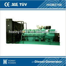 2500KVA Googol 60Hz power generation, HGM2750, 1800RPM