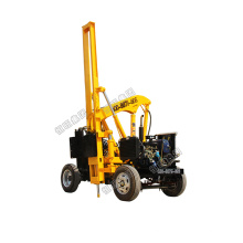 HW-260 model full hydraulic pile drilling and pulling driver machine