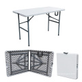 4FT Camping Furniture Picnic Table Foldig in Half Outdoor Table for Army