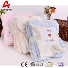 new design super soft microminkm solid sherpa blanket