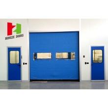 Flexible Hochgeschwindigkeits-Kühlraumtür mit Reißverschluss