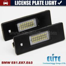 E46 E81 E87 Dirigindo o caminhão leve da placa highbright conduziu a lâmpada da cauda