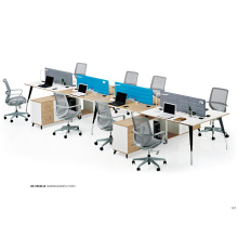 Customized Office Computer Desk Commercial Office Workstation for 4 Person