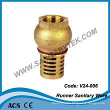 Brass Foot Valveand Bottom Valve (V24-006)