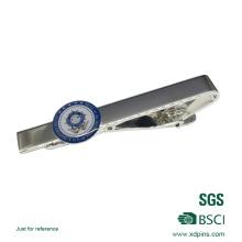 2016 heißer Verkauf Kundenspezifische Silber Weiche Emaille Krawattenklammer