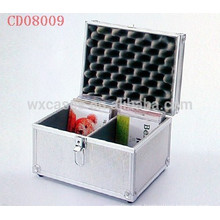 high quality 40 CD disks(10mm)aluminum CD holder wholesales from China manufacturer