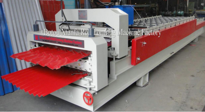 Double Layers Roll Forming Machine