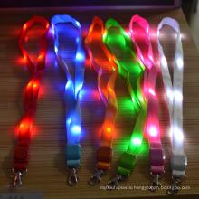 New Arrival colorful flashing led light lanyard