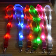 Новое Прибытие красочные мигающий светодиод шнурки