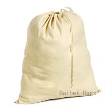 Sac de lessive en coton écrue (HBLB-15)