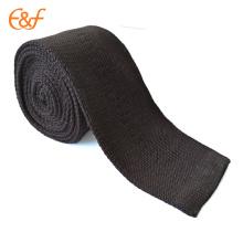 Hommes Classique Solide Tricoté Tissé Mode Slim Skinny Cravate Cravate