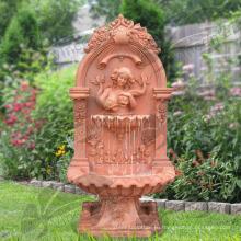 Мраморная голова Льва стенной фонтан