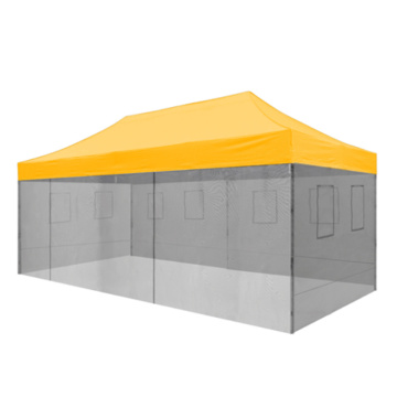 Pop Up 10x20 Canopy Mosquito Wall Show Zelte