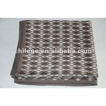couvertures imprimées en cachemire tricoté