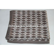 knitted cashmere printed blankets