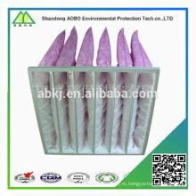 Оптовая фильтра Рециркулированный подушки безопасности, Non сплетенный воздушный фильтр карманный фильтр мешок Ф5 Ф6 Ф7 Ф8