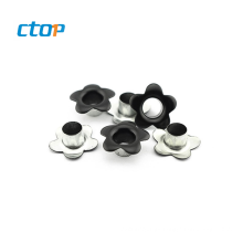 factory supplier bag accessory custom oval metal eyelet