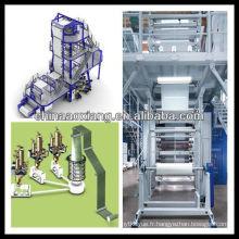 machines de fabrication de plastique ax-60 (70) machine de soufflement de film de double-vis de simple-vis
