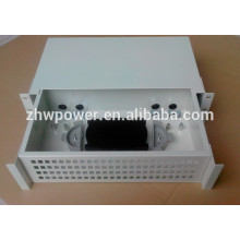 Draw type 96 core rack mounted optical fiber patch panel with sc lc adapter / optical pigtail