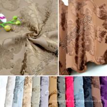Tissu d'ameublement chaud de jacquard de molleton pour la largeur du textile à la maison 145cm