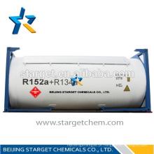 Agente de limpeza / agente espumante / refrigerante R152a + R134a