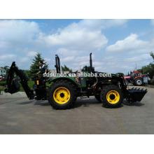 Hot sale Farm machine!Compact tractor backhoe loader