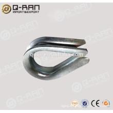 Acero al carbono galvanizado Cable dedal de la gota