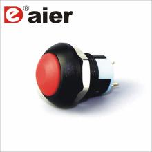 Interruptor de botón impermeable 250v de la bóveda de la bóveda de 12m m