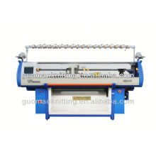 máquina de tejer de doble cara