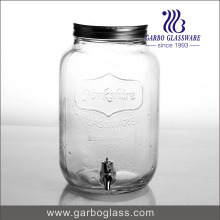 Dispensateur de jus de verre 8L Clear Big avec robinet