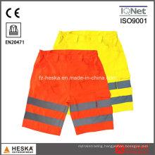 Safety En471 Reflective Men Shorts Pants