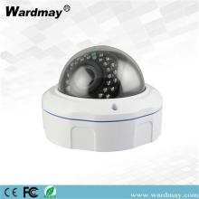 Vandaalbestendige OEM 4.0 / 5.0MP CCTV IR Dome IP-camera