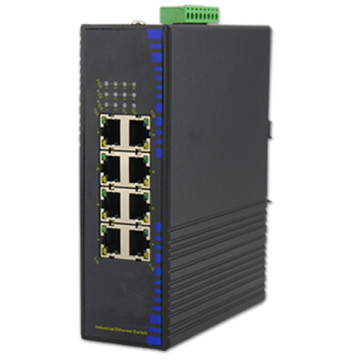 Industrieller schneller 8-Port-Ethernet-Switch