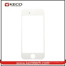 Venta al por mayor de China para la lente de cristal delantera de la pantalla táctil del iphone 5s blanco