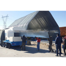 Acm k q span arch roof roll forming machine for sanxing 914-400