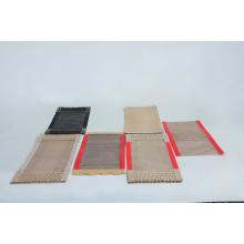 Caliente saling no adherido PTFE tejido de fibra de vidrio tejido de malla abierta